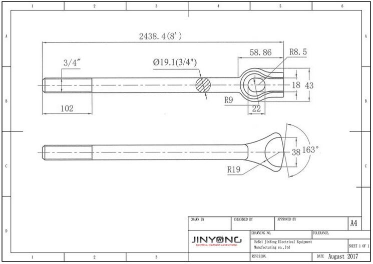 guide wire anchor rod guy wire anchor rods wire diagrams